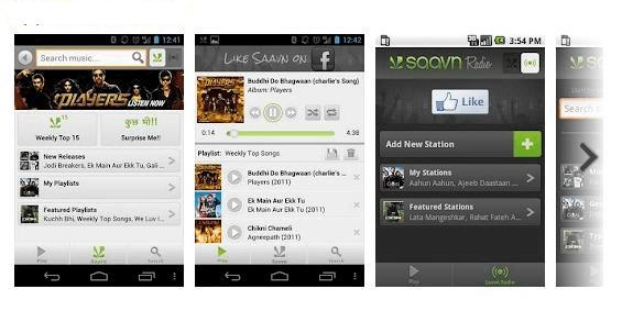 saavan no wifi music apps