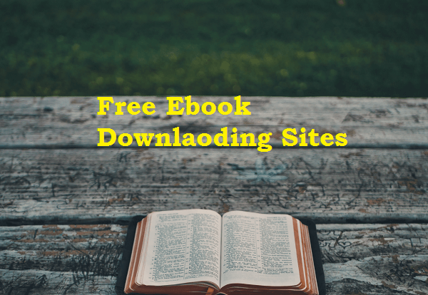 free ebook downlaoding sites without registration