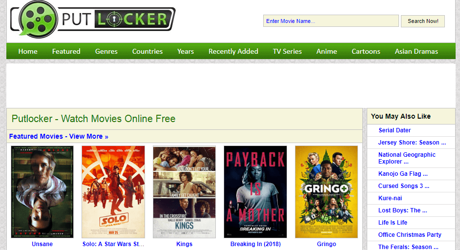 putlocker rainierland like sites