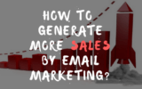 generate sales using email marketing