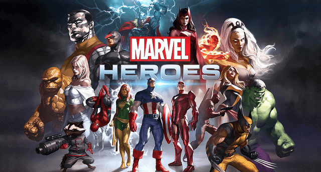 marvel heroes games like wow