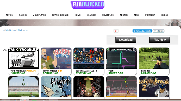 funblocked unblocked games provider