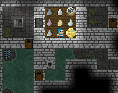 pixel dungeon game