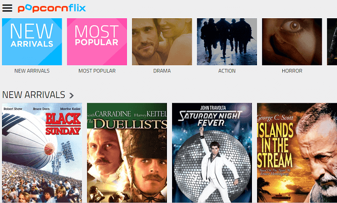 popcornflix unblocked movies