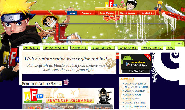 anime freak in abest anime streaming sites
