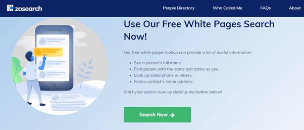 zosearch-whitepage-search