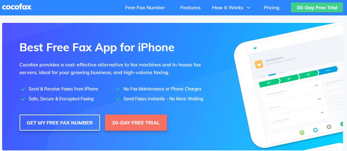 cocofax app