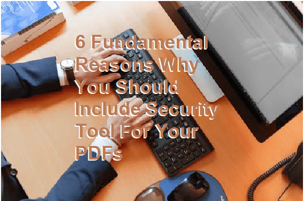 Security Tool for Your PDFs